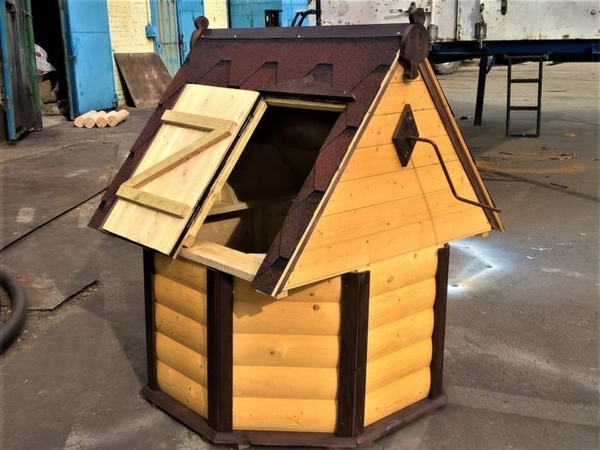 Декоративный колодец,  домик для колодца в сад
