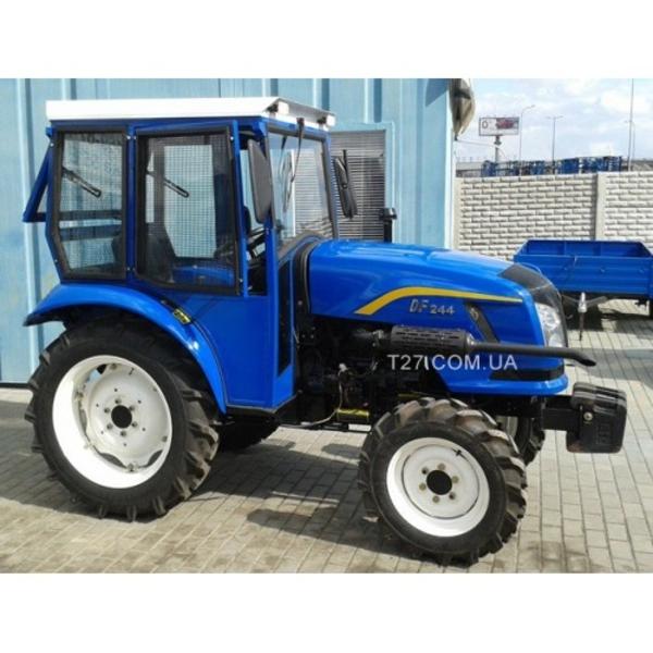 Мини-трактор Dongfeng-244C с кабиной,  сделанной в Украине
