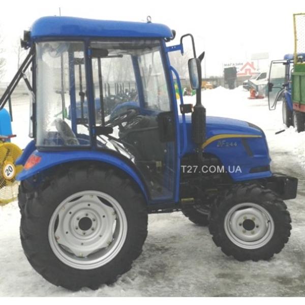 Мини-трактор Dongfeng-244C (Донгфенг-244К) с обновленной кабиной  8