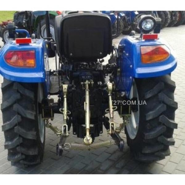 Мини-трактор DongFeng-244 (ДонгФенг-244) с широкой резиной  4