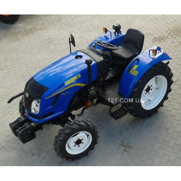 Мини-трактор DongFeng-244 (ДонгФенг-244) с широкой резиной  6