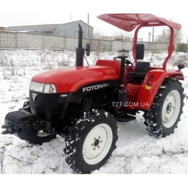 Трактор Lovol Foton-404 (Ловол Фотон-404) с козырьком  5