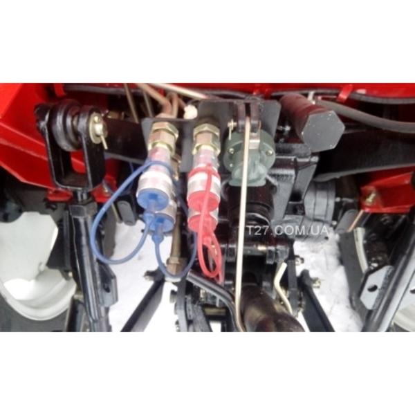 Трактор Lovol Foton-404 (Ловол Фотон-404) с козырьком  7