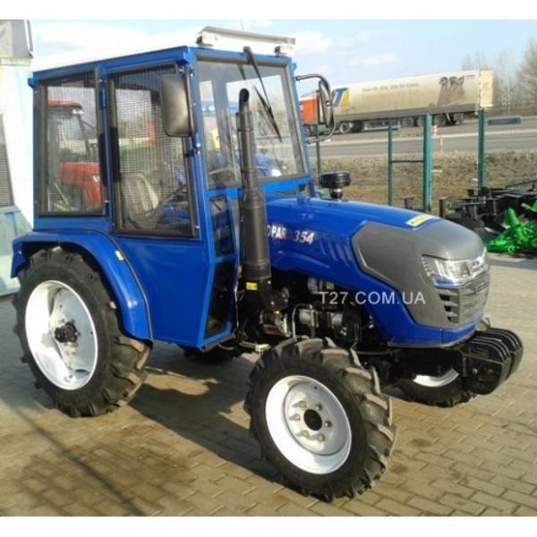 Мини-трактор Foton/Europard TE-354 (Фотон-354) с украинской кабиной  4