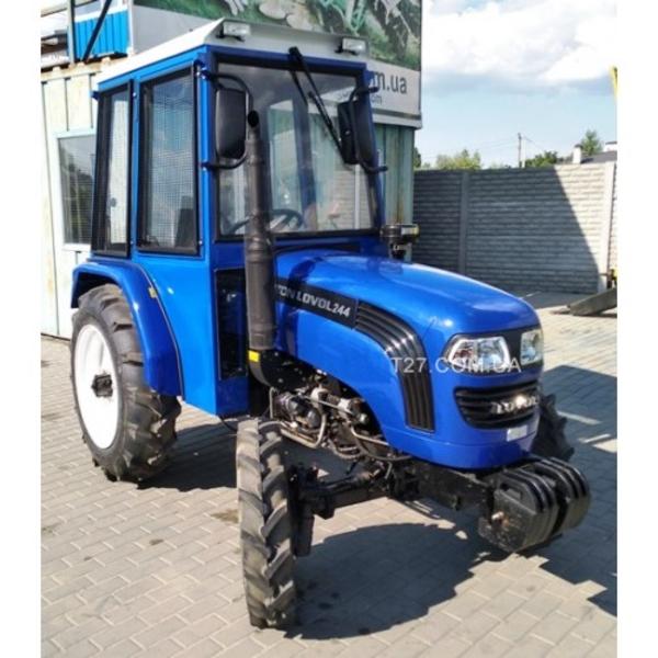 Мини-трактор Foton/Lovol-244 (Фотон-244) (реверс,  широкие шины) с каби