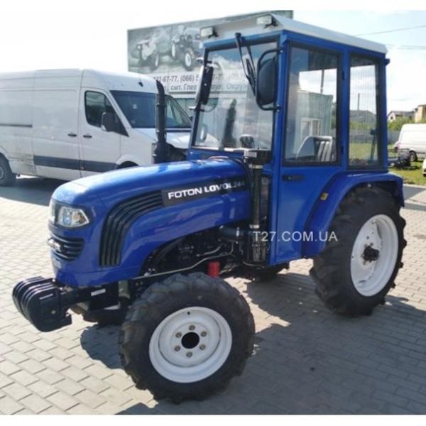 Мини-трактор Foton/Lovol-244 (Фотон-244) (реверс,  широкие шины) с каби 2