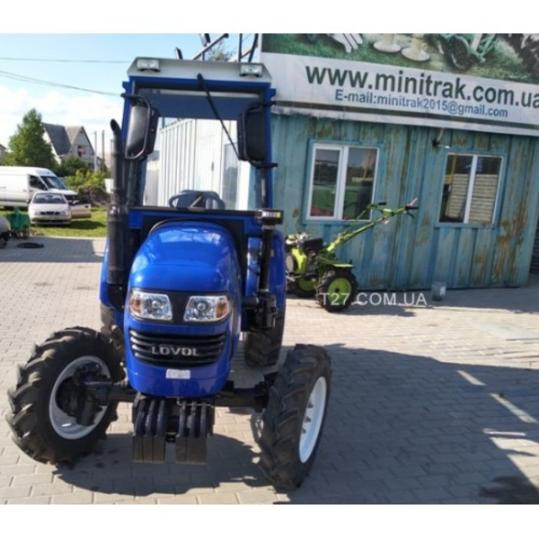 Мини-трактор Foton/Lovol-244 (Фотон-244) (реверс,  широкие шины) с каби 3