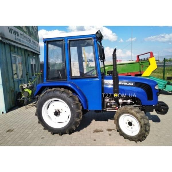 Мини-трактор Foton/Lovol-244 (Фотон-244) (реверс,  широкие шины) с каби 4