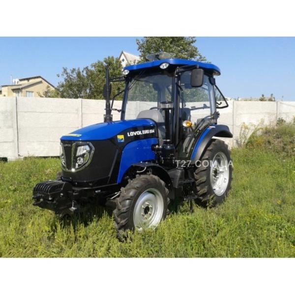 Трактор Foton/Lovol Euro TB-504 (Фотон-504) с кабиной и реверсом  3