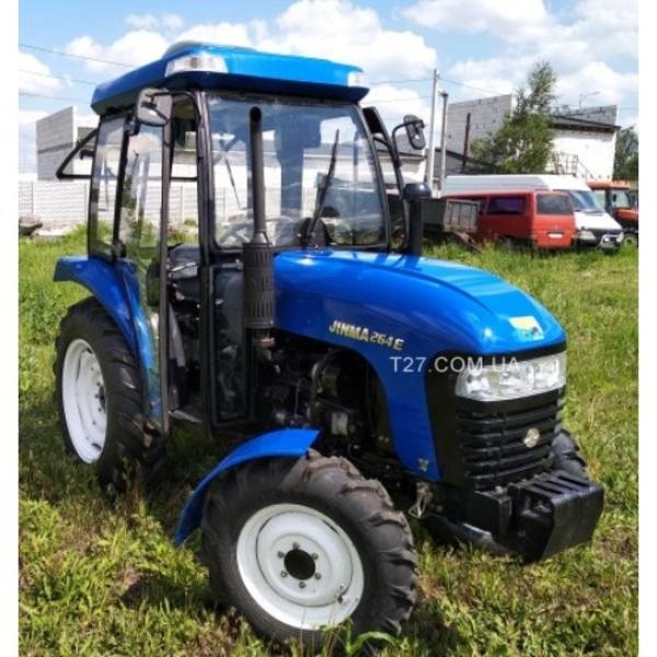 Мини-трактор Jinma-264E (Джинма-264Е) с кабиной  4