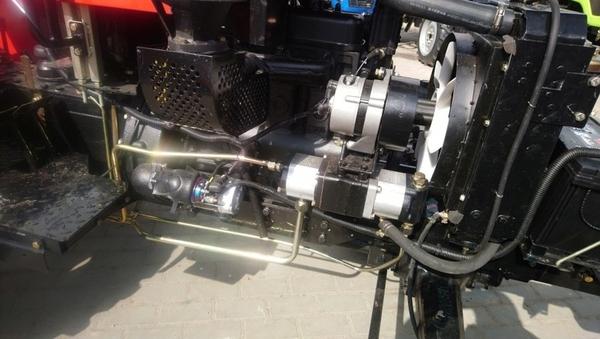 Мини - трактор SHIFENG SF-404 C 5