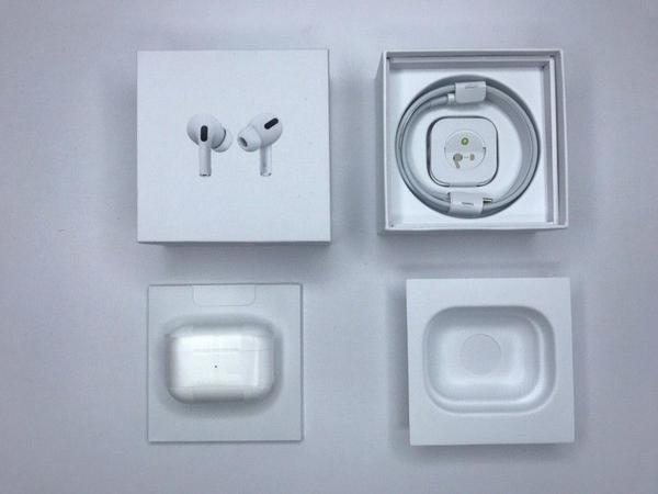 Беспроводные наушники Apple AirPods PRO Bluetooth 5.0 с кейсом 4