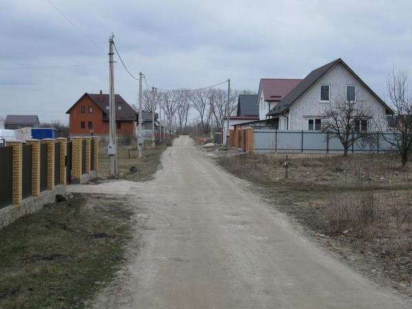 Борисполь,  18км от Киева,  земельные участки в жилом массиве   5