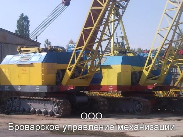 Аренда гусеничных кранов МКГ-25БР Киев и др. 3