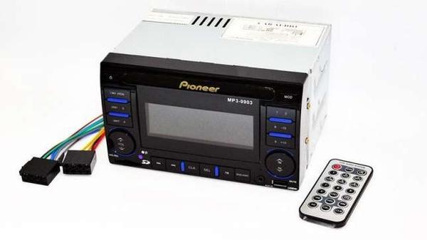 Автомагнитола 2din Pioneer 9903 USB+SD+AUX+пульт RGB подсветка 3