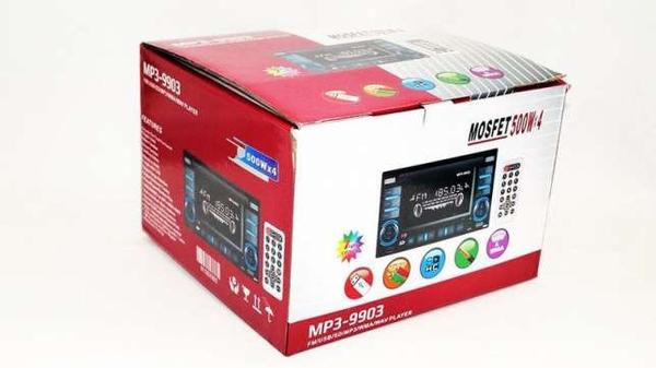 Автомагнитола 2din Pioneer 9903 USB+SD+AUX+пульт RGB подсветка 5