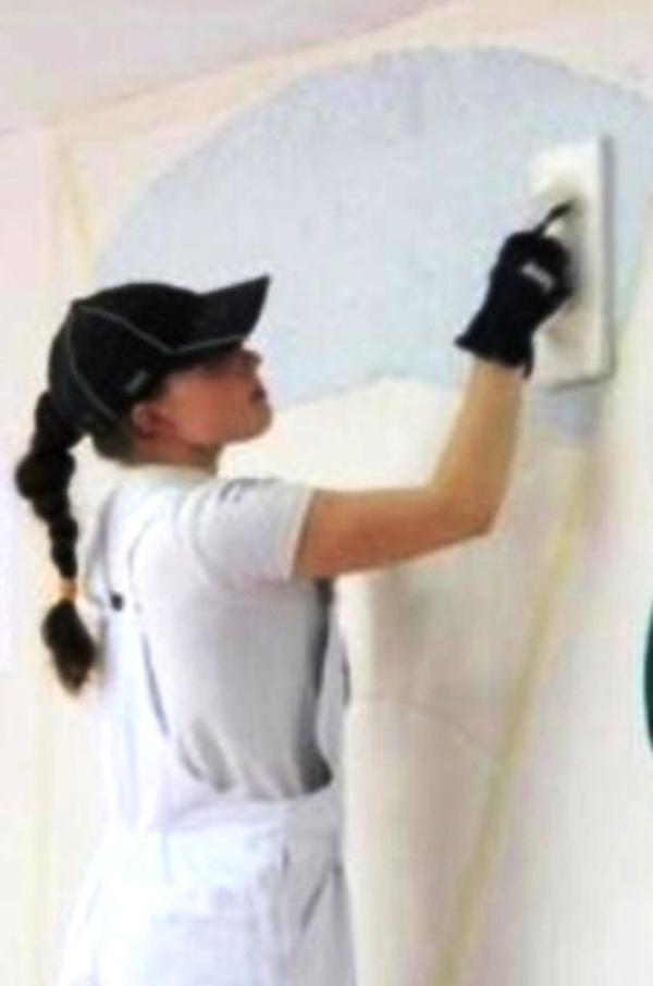 Шпаклевка стен под обои и покраску