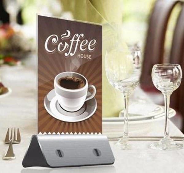 Зарядки для кафе,  ресторанов - power bank menu 2