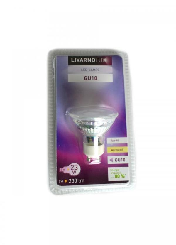 M7-550102,  LED-лампочка GU10,   белый-металик