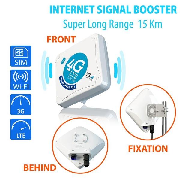 Усилитель интернет сигнала 3G/Lte STREET 2 PRO. 3