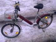 електро велосипед в рабочем состоянии