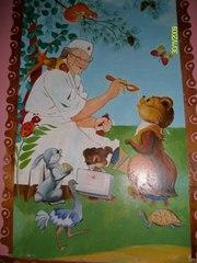 Художественная роспись детских садов