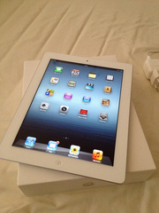 Apple iPad 3  64GB Wi-Fi + 4G at $ 550USD , Apple iPhone 4S 64GB ..$500