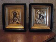 Иконы венчальные, старинные и современные. Парные скульптурные композиции. Возможна пересылка по Украине.