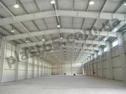 Строительство каркасных ангаров под ключ в Украине,  склады под ключ.