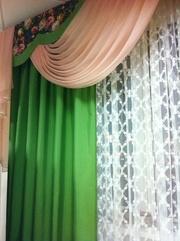 Шторы тюли в спальню,  детскую,  зал,  на кухню,  пошив штор,  на Ахматовой