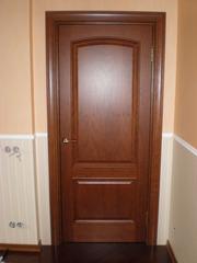 Установка монтаж межкомнатных дверей. киев.