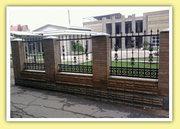 Заборы,  ворота,  калитки металлические