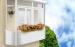 Выполняем работы с балконом: вынос (расширение),  остекление,  утепление