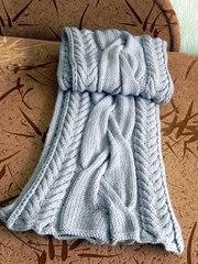 Вяжу на заказ шарфы,  снуды различной сложности  (косы, узоры и др.)