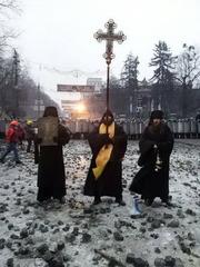 Обращение монахов Десятинного монастыря