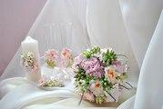 Свадебные аксесуары из полимерной глины под заказ