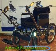 Инвалидная коляска с рычажным приводом ДККС
