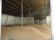 Ангары для хранения зерна,  Украина.