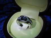 Продам золотой перстень сапфир и бриллианты