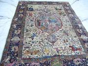 Реставрация антикварных ковров ручной работы