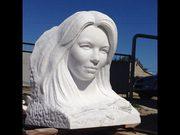 Изготовляю скульптуры,  памятники из мрамора