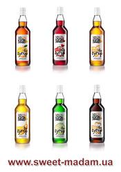Продаем сиропы для алкоголольных,  безалкогольных,  молочных коктейлей