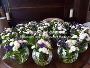 Оформление Вашей свадьбы с цветами