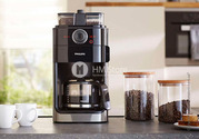 Стильная кофеварка Philips Grind & Brew Coffee maker