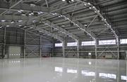 Ангар,  склад,  СТО. Монтаж металоконструкцій і сендвіч-панелей